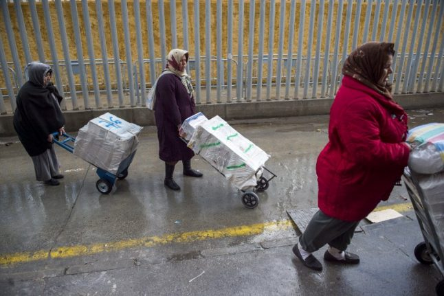 Trolleys bring relief for Moroccan 'mule women' at Spanish border