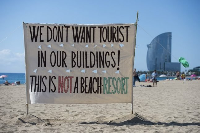 Fed-up Spanish cities are bursting Airbnb's bubble
