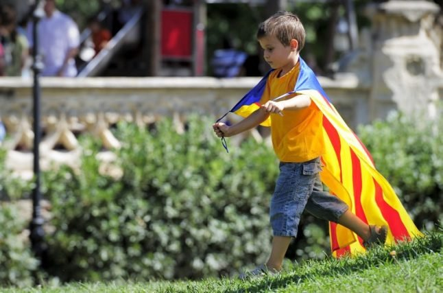 Catalan schools accused of indoctrinating children with pro-independence ideas