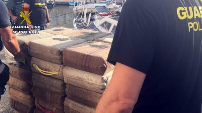 80 per cent of European hashish smuggled in every year to Spanish town near Gibraltar