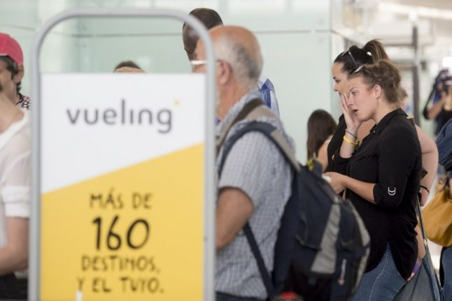 Travel chaos for Vueling passengers as hundreds of flights cancelled in pilot strike