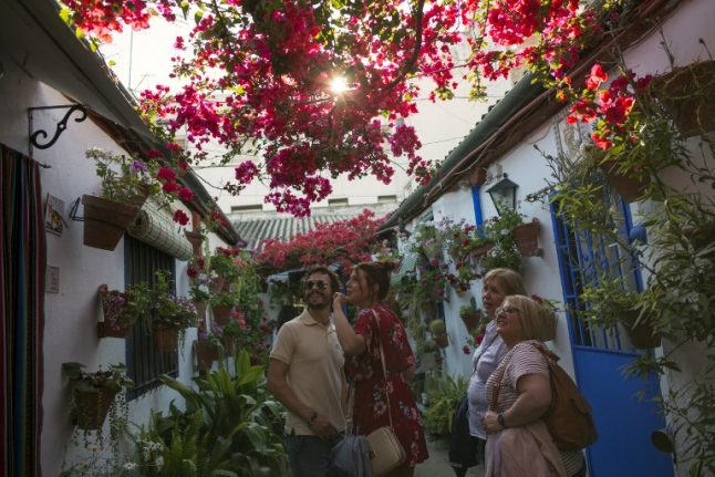 IN PICS: Blooming gorgeous patios of Cordoba