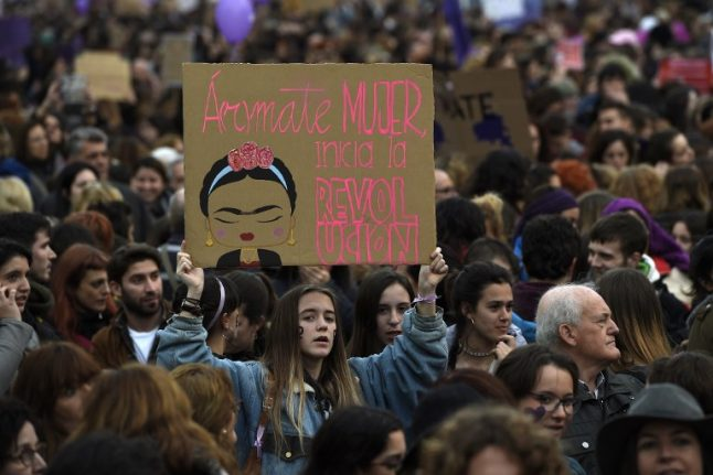 Number of victims of sexual crimes in Spain increased in 2017