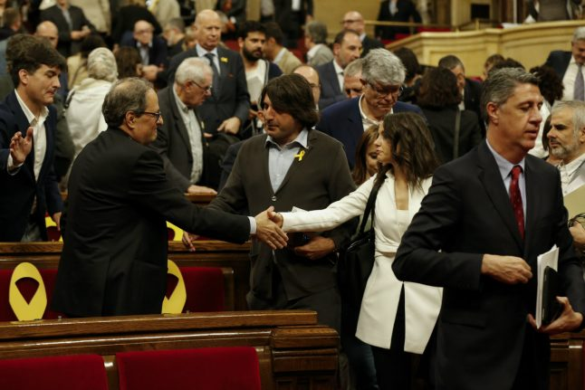Catalan lawmakers fail to agree on new president in first round vote
