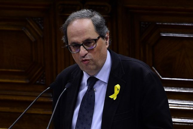 PROFILE: Quim Torra, the Catalan separatist anointed by Puigdemont