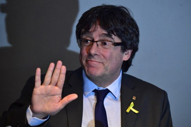 Puigdemont rejects being chosen as next Catalan leader