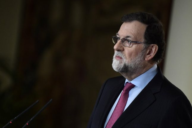 Spanish parliament to debate Rajoy no-confidence motion this week