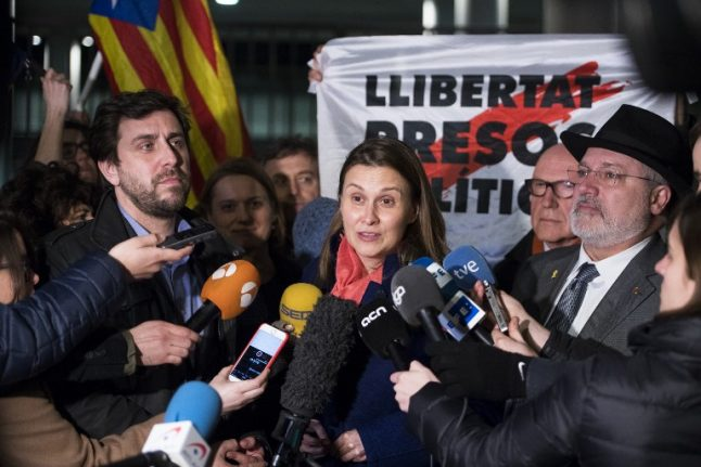Belgium court rejects extradition of Catalan ex-ministers
