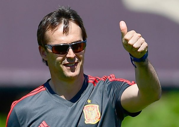Spain coach Lopetegui to take Real Madrid job after World Cup