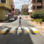 Town in Valencia paints 3D Zebra crossing to slow down speeding cars
