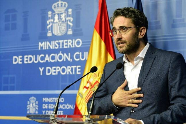 Spain's new culture minister resigns over tax fraud after just one week