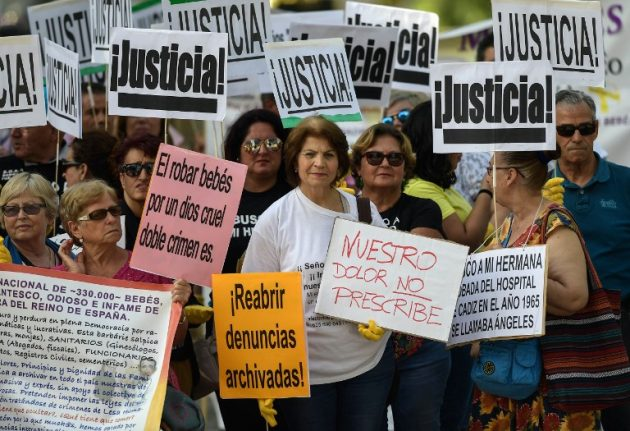Spain's 'stolen babies' trial adjourned with accused in hospital