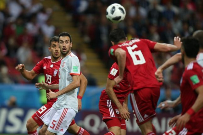 Hierro relieved Spain survived tough Iran test