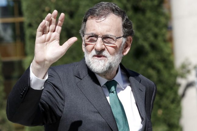 Spain's ousted PM Rajoy to quit as conservative party leader