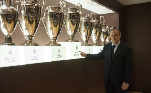 Real Madrid trophy cabinet too small for 13th European Cup