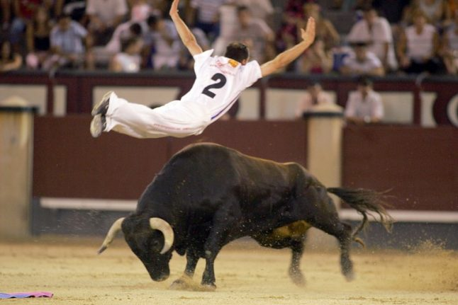 Man who leapt bulls gored to death in Valencia