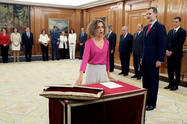 King Felipe swears in new cabinet with record number of women