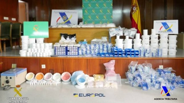 Spanish police bust designer drug gang paid in bitcoin