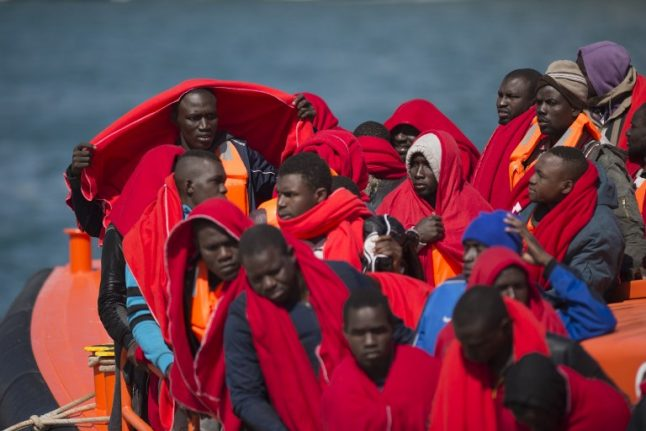 More than 600 migrants rescued off Spain in one day