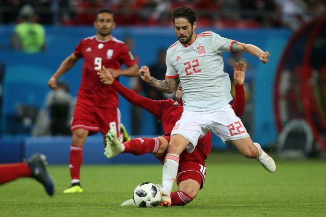 Isco urges Spain to stay true to selves in Morocco decider