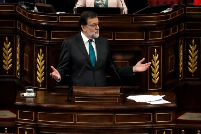Rajoy poised to fall in no-confidence vote