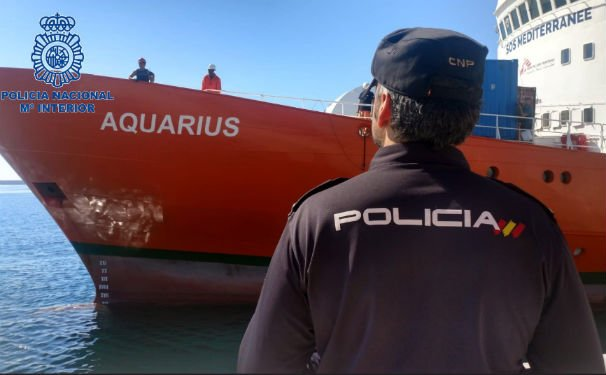 'It's been a long time since I was hugged like this': Aquarius girl, 12, to rescuer