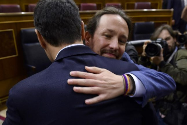Podemos left out of new PM's government