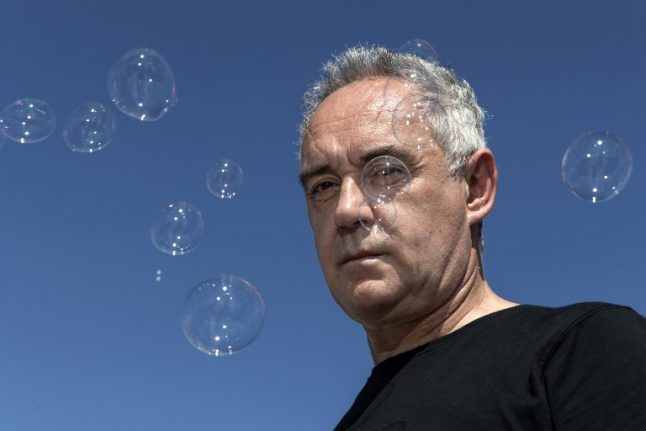 Ferran Adrià: World's top chef doesn't want to go back into the kitchen