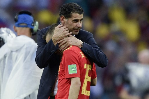 Hierro quits Spain coach job after World Cup debacle