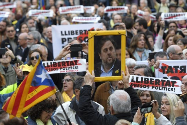 Imprisoned Catalan leaders to be moved to jails in the region this week