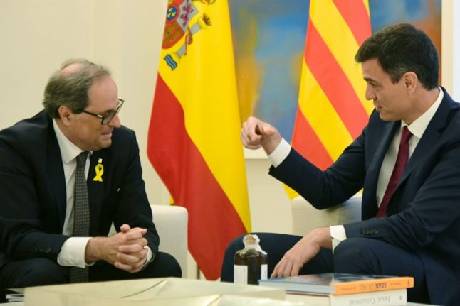 Not giving up: Catalan leader pushes for independence despite easing tensions