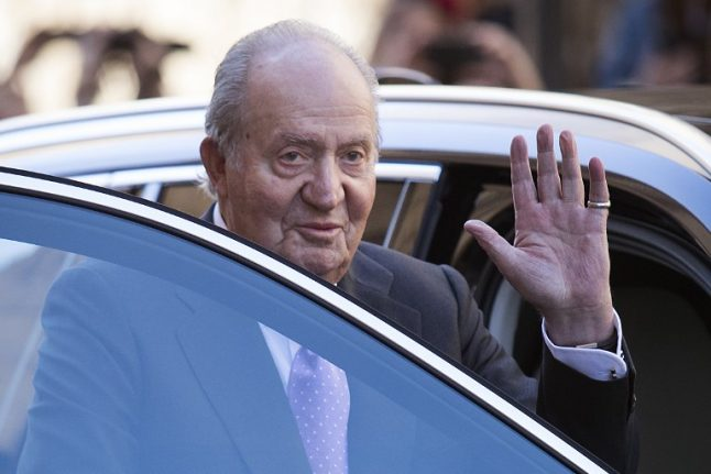 Former Spanish king's 'special friend' says he laundered money