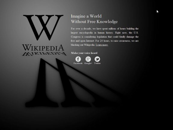 Noticed Wikipedia wasn't working in Spain this morning? Here's why