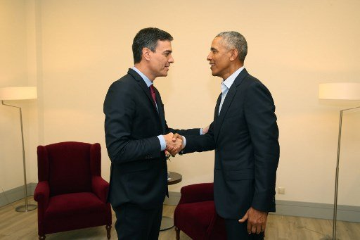Obama in Spain: 'We're seeing a global rise in nationalism'