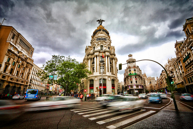 No more driving or parking in central Madrid without eco sticker