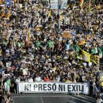 Thousands protest in Barcelona for release of Catalan leaders