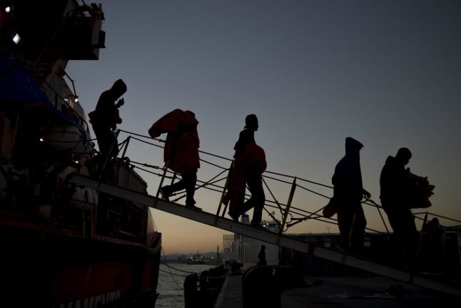 Over 1,200 migrants rescued off Spanish coast in two days