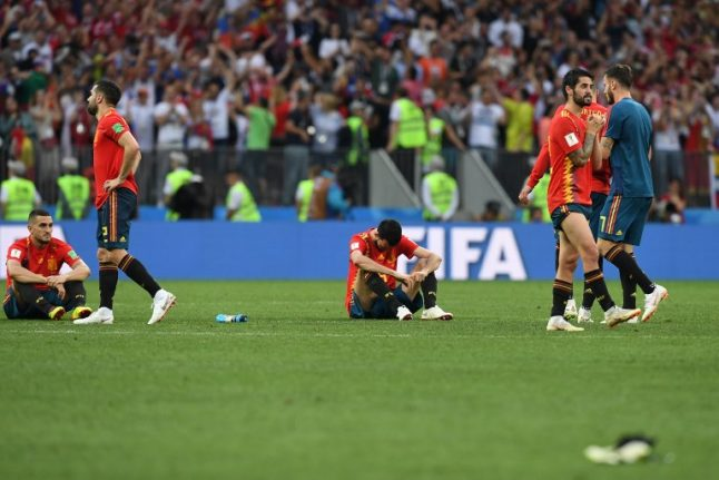 Spain out of World Cup after falling to Russia in penalty shootout