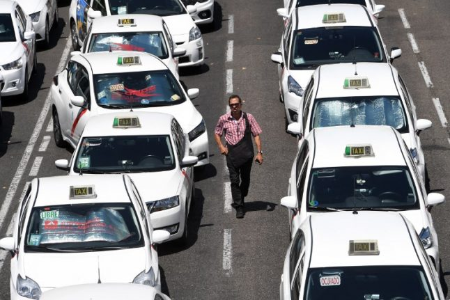 Finally! Spanish taxi drivers call off strike