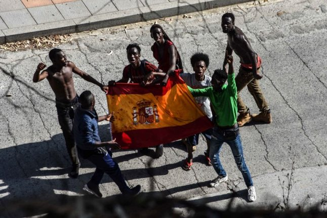 Spain arrests 10 ringleaders who planned huge fence jump at Morocco border