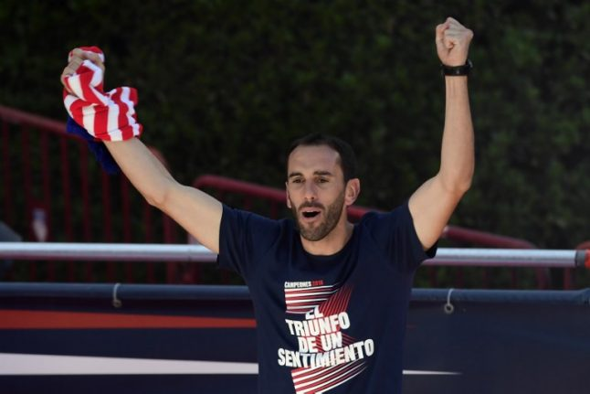 Godin says he's going nowhere despite reports of English interest
