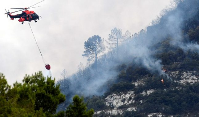 Wildfire rages in Gandia: 3,000 evacuated from homes
