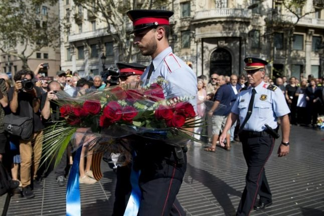 One year on, Spain remembers victims of Barcelona attacks