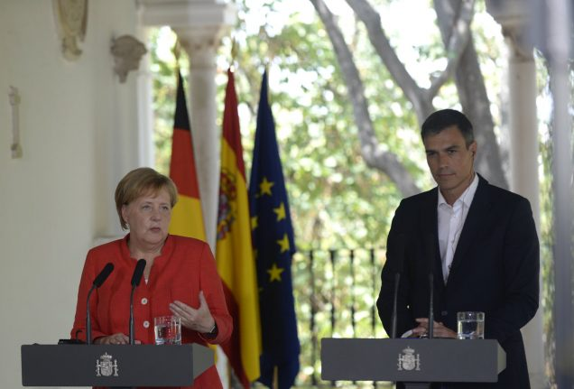 Spain and Germany seek EU aid for Morocco over migrants