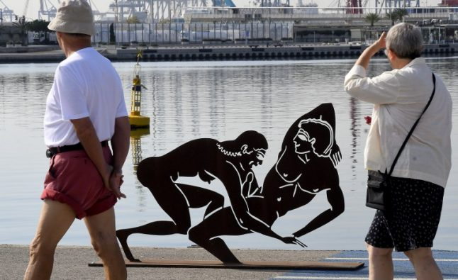 IN PICS: Ancient Greece-inspired erotic art sparks debate in Valencia