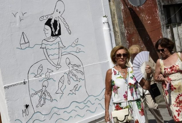 IN PICS: Velazquez's ladies-in-waiting spruce up struggling Galician town