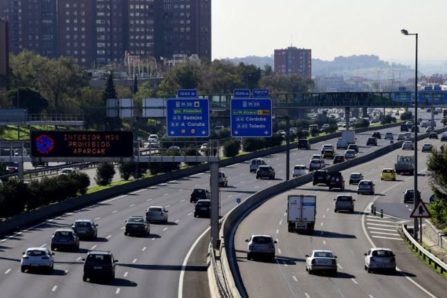 Spanish roads see surge in traffic fatalities this summer