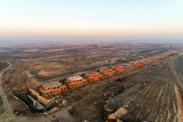 IN PICS: Drone photography reveals haunting beauty of Spain's unfinished housing