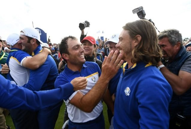 Europe beats United States to reclaim Ryder Cup