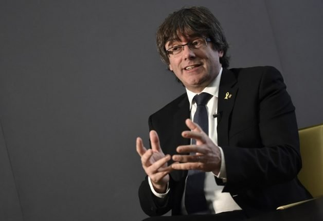 Catalan ex-leader to launch new party a year after independence bid